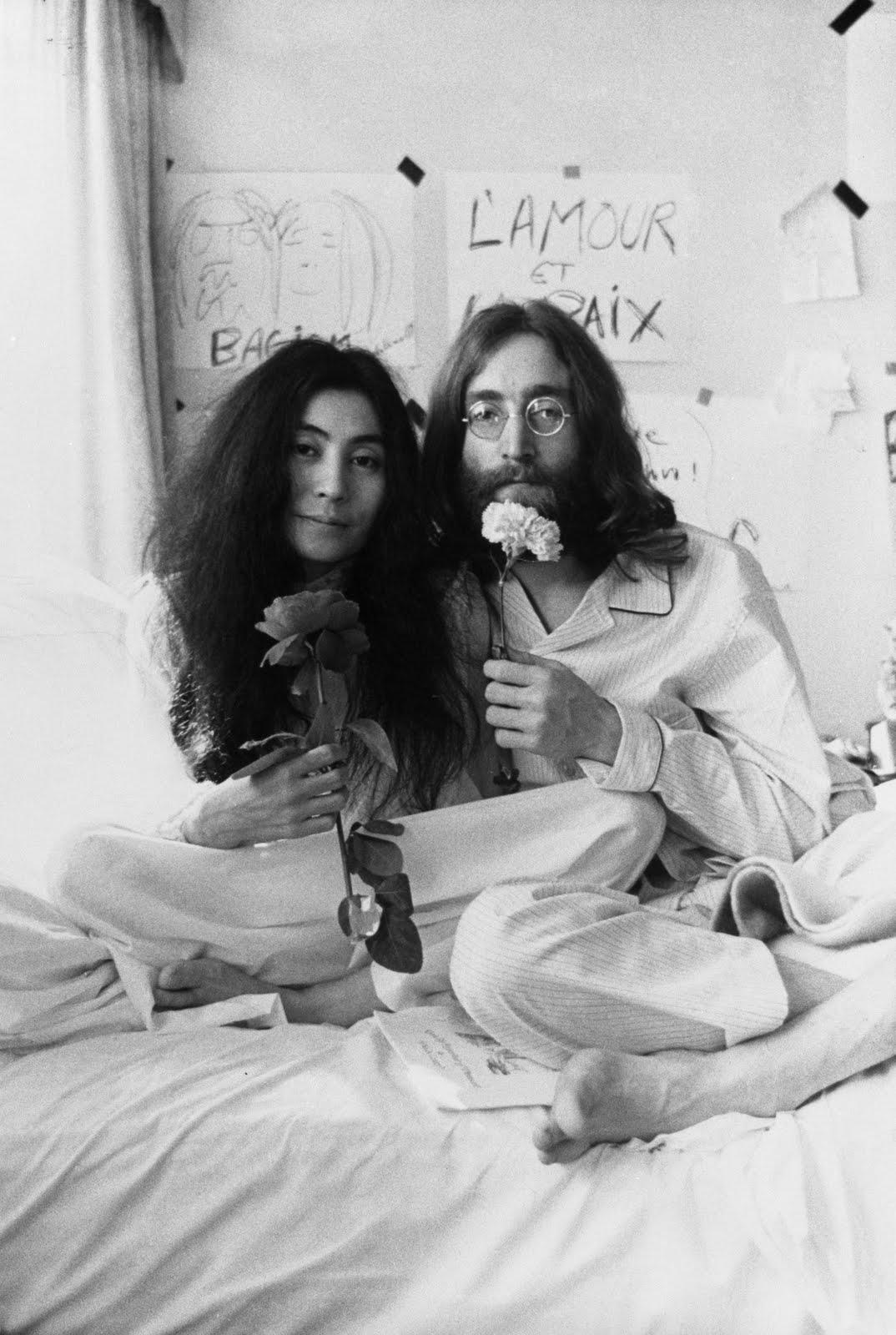 Yoko Ono And John Lennon I Was Here.: John Lenn...