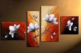 pintura-moderna-con-flores