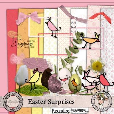 Happy Scrap Arts ::  Easter Surprises