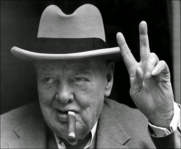 Черчилль - долгожитель, хотя и пил, и курил