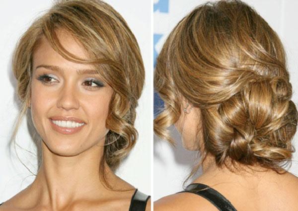 Question glamour, Jessica envoie du méga lourd. J\u0027adore ses cheveux, leur  couleur et les coiffures qui lui sont faites! Je me rappelle avoir  notamment