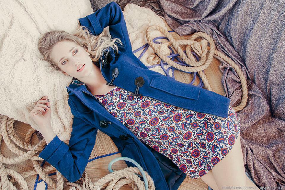 Abrigos 2015: tapados, camperas y montgomerys Try Me otoño invierno 2015. Moda otoño invierno 2015