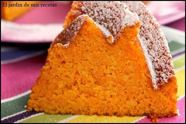 Bizcocho de zanahoria y almendras con thermomix el for Bizcocho de yogur y almendra