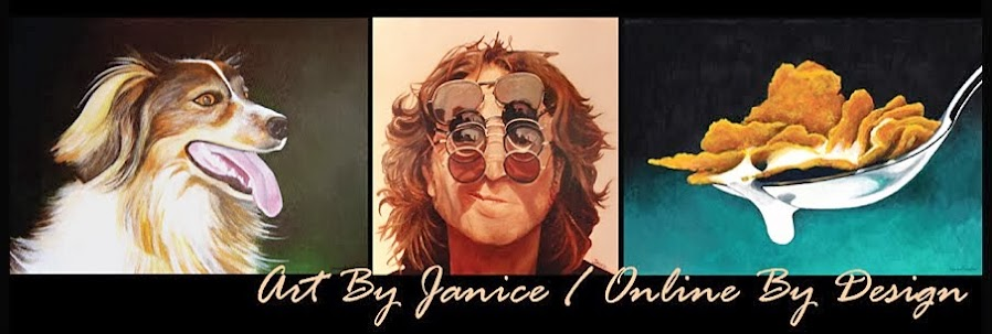 Online By Design Art Blog - Janice Dunbar Artist