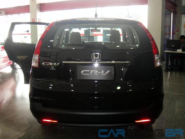 Honda CR-V LX Mecânico 2013 - Preta