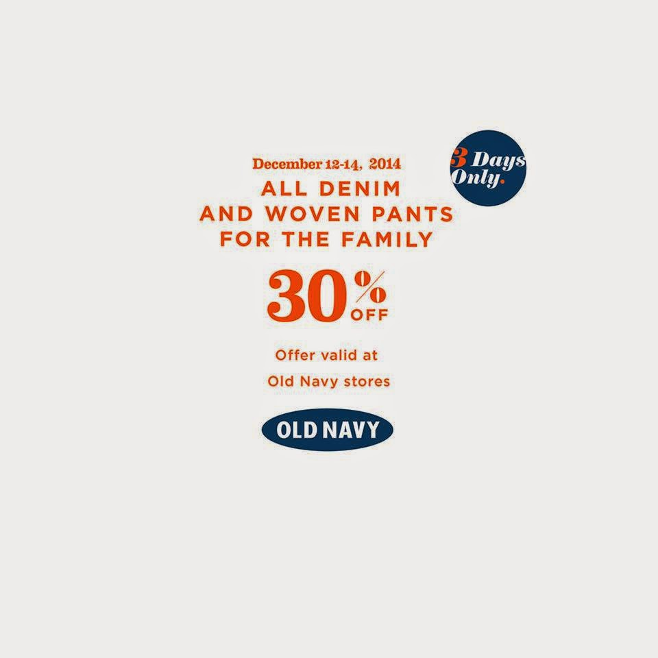 A List Manila Old Navy Sale