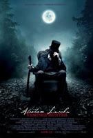 Movie poster of Abraham Lincoln: Vampire Hunter, starring Benjamin Walker