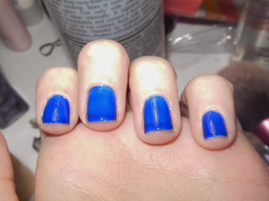 brandikayy: Nina Ultra Pro - Nail Enamel: Cobalt