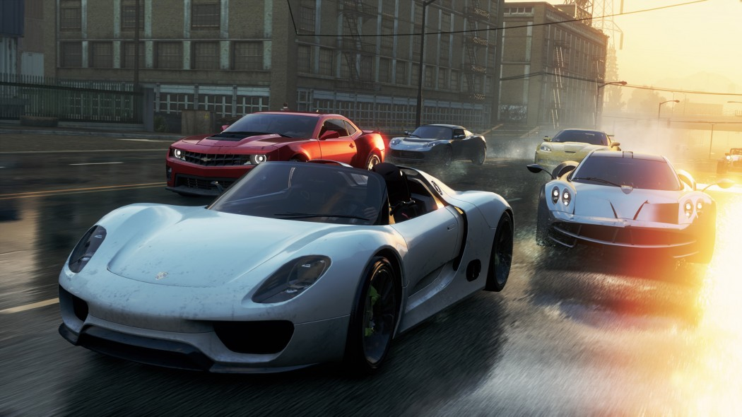 The Porsche 918 Spyder In Need For Speed Most Wanted2012