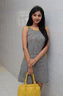 Sanam Shetty looks cool lovely in Short Dress at Singham 123 Theatre Visit