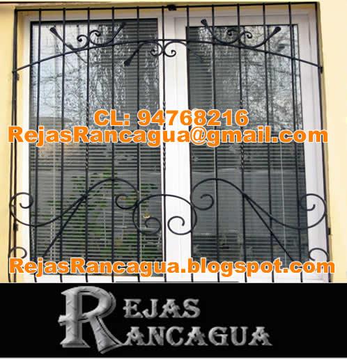 Rejas rancagua rejas para ventanas tattoo design bild - Rejas para casas ...