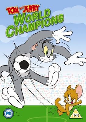Capa - Tom & Jerry: Campeões do Mundo