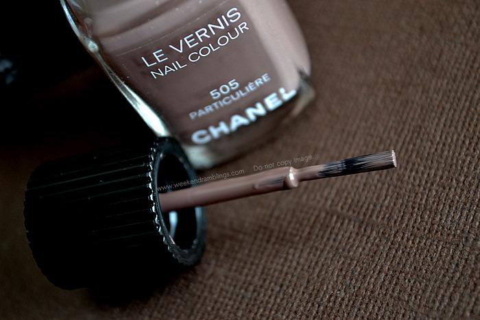 Chanel Makeup Le Vernis Particuliere Nail Polish Color Lacquer Beauty Blog Reviews