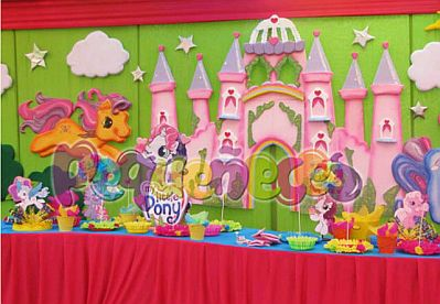 Decoraci  Nes Para Fiestas De My Little Pony   Imagui