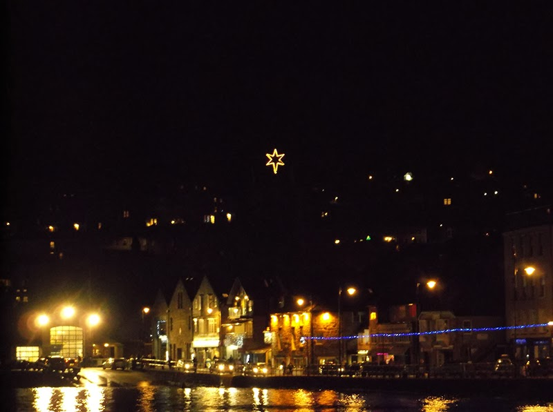 Christmas Lights - St Ives Harbour