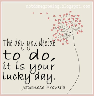 it is your lucky day