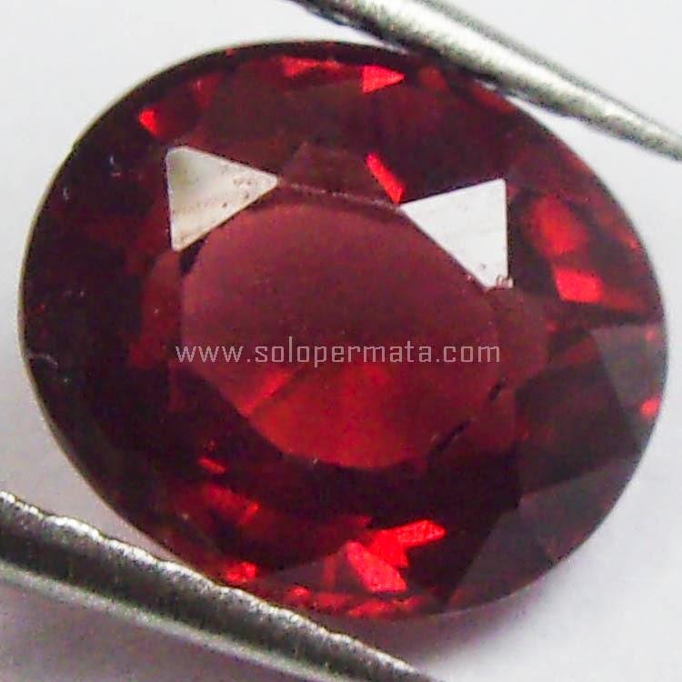Batu Permata Natural Garnet Ceylon