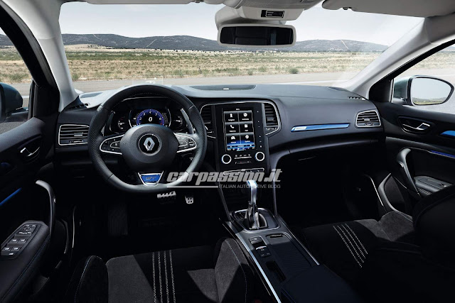 novo Renault Megane 2016 - interior