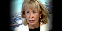 Con todo el rostro -todavía sin retocar- la ex-vice prometió el AVE  a los extremeños para 2010
