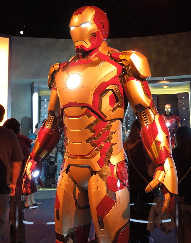 Iron Man 3 Mark 42 suit detail