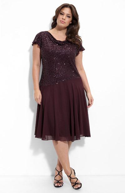 Plus size Kleider für 2011/2012