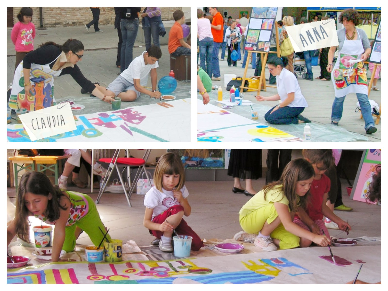 "laboratorio ""en plein air"" con i bambini"