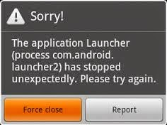 Cara Mengatasi Aplikasi/Game Force Close Di Android