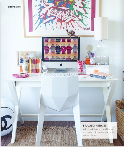 Great Decorating Ideas For Your Home Office by Adore Magazine