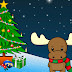 Tarjeta de Navidad Reno Ternura Descarga Gratis