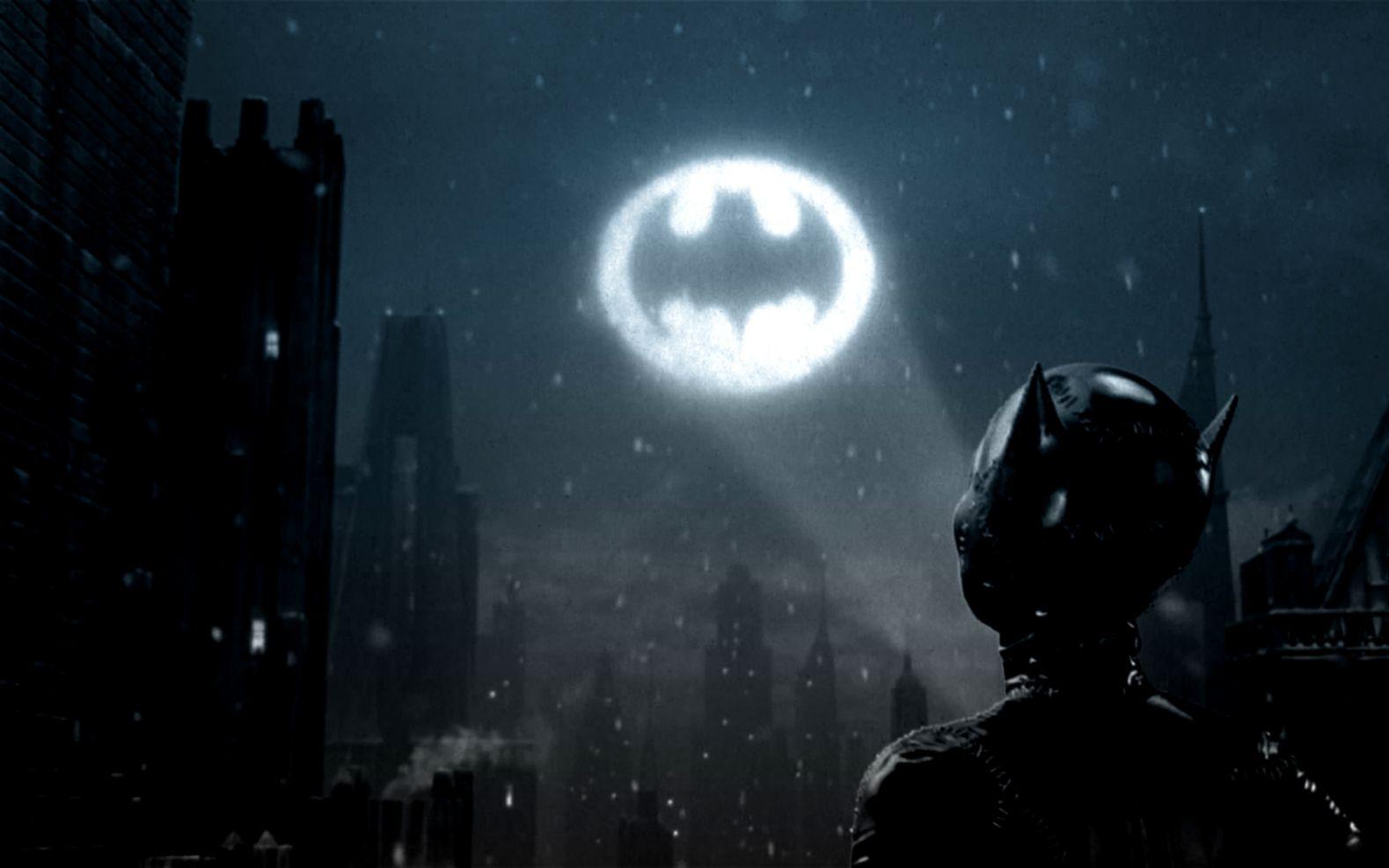 Batman Logo Catwoman Wallpaper
