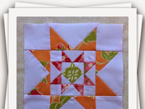 Chatelaine- Free BOW Sampler Quilt Block 6