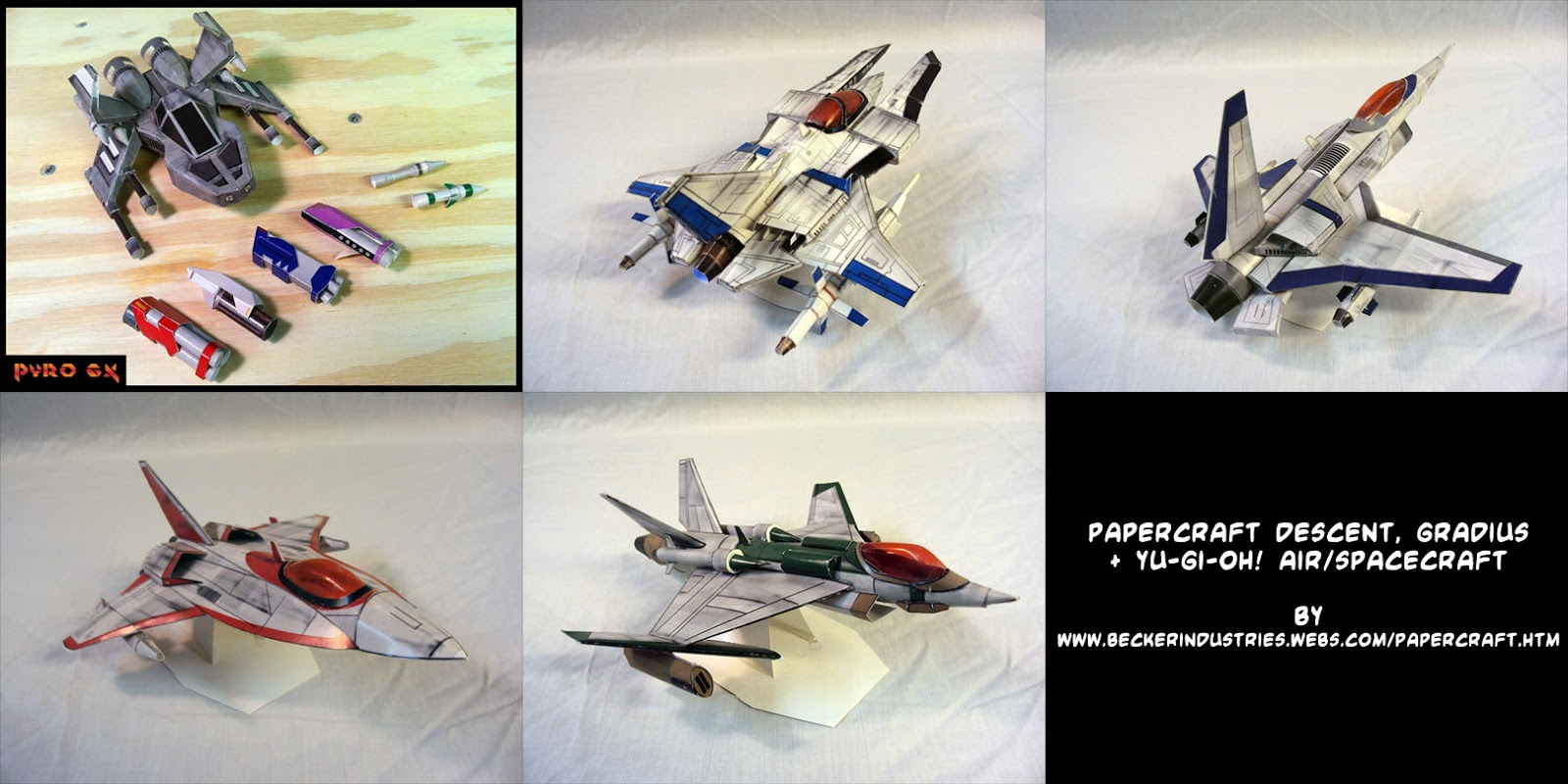 Gradius Paper Craft