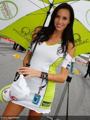 Foto cewek Paddock MotoGP