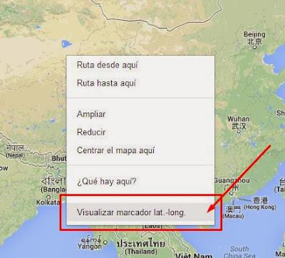 Obtener Geocódigo en Google Maps
