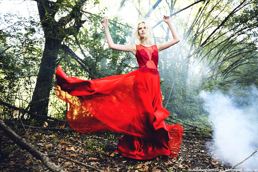 Solo Ivanka otoño invierno 2015. Vestidos de fiesta 2015. Moda invierno 2015.