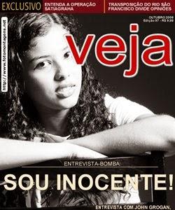 Capa de Revista Veja