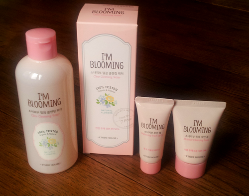 i'm blooming etude house clear cleansing water