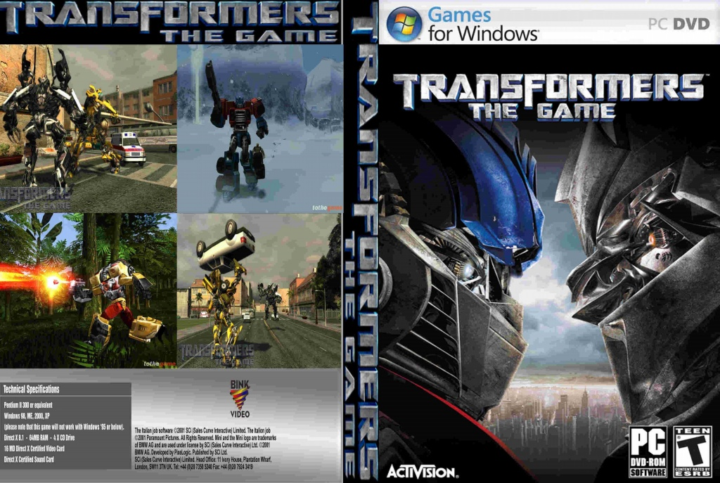 Download Transformers Pc Game Highly Compressed To 200MB (100% Working) - Direct Download ...