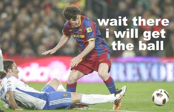 Lionel Messi - Wait There I Will Get The Ball