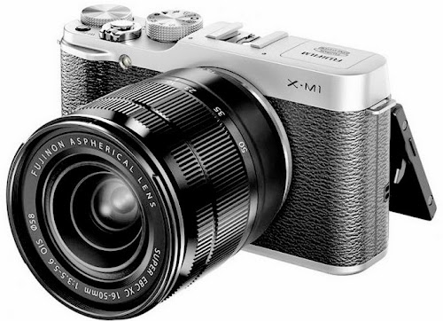Fujifilm X-M1. Digitalizer