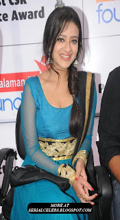 Madalsa Sharma in blue chudidar