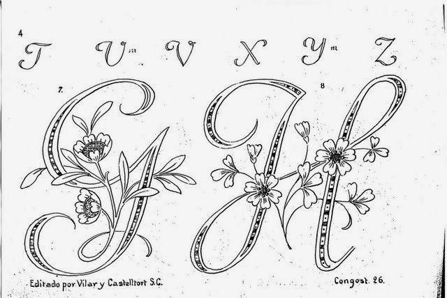 Cruces de hilo y rosas  Hermosas letras