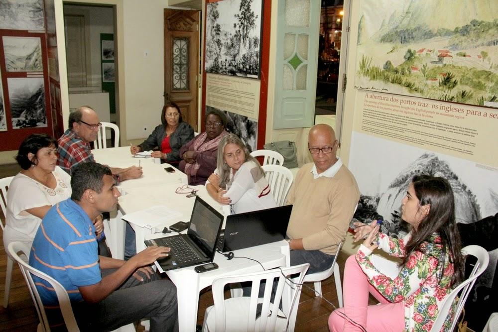 A reunião do Conselho de Cultura foi realizada na Casa da Memória Arthur Dalmasso