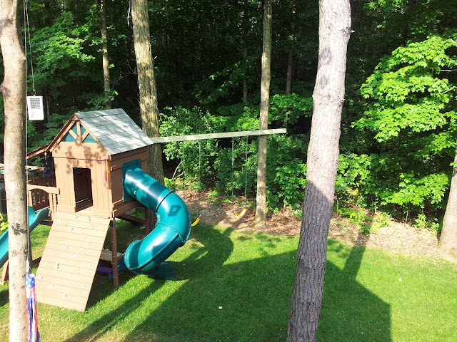 how to build a tall swing set