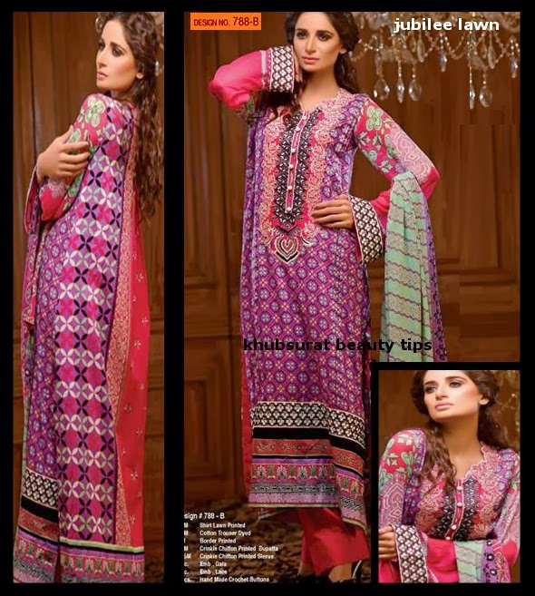 jubilee summer lawn dress collection designs