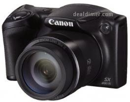 Canon PowerShot SX400 IS Camera + 8GB Card + Carry Case