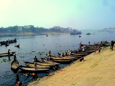 Amazing Dhaka Sadarghat.