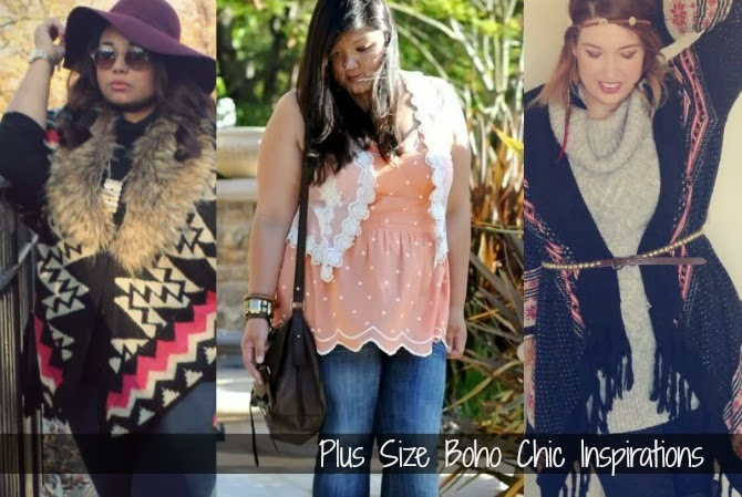 stile boho chic plus size