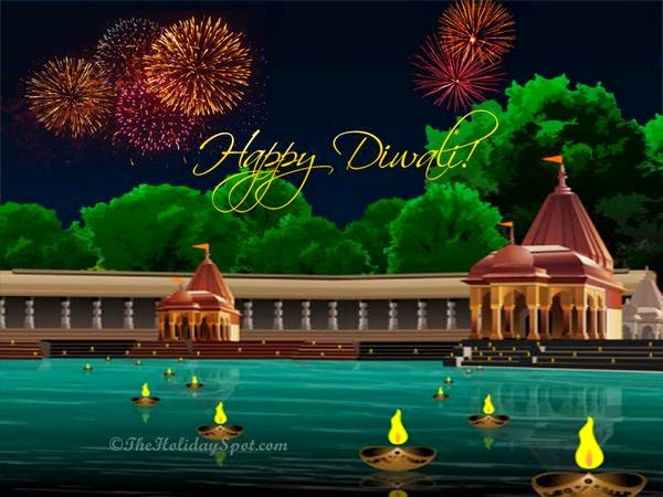 Happy Diwali 2014 Facebook Covers