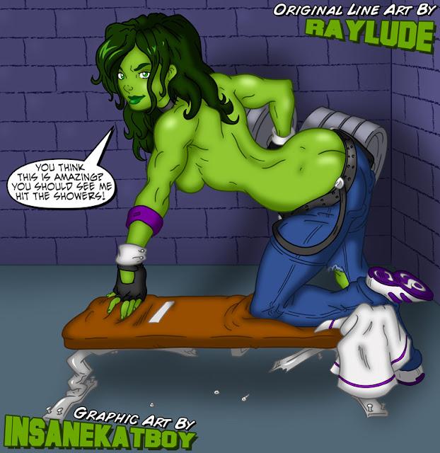 She-Hulk por insanekatboy